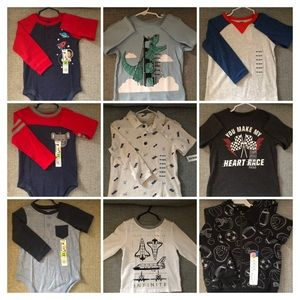 Lot Baby Boy Fall/Winter Clothes 18-24 Months